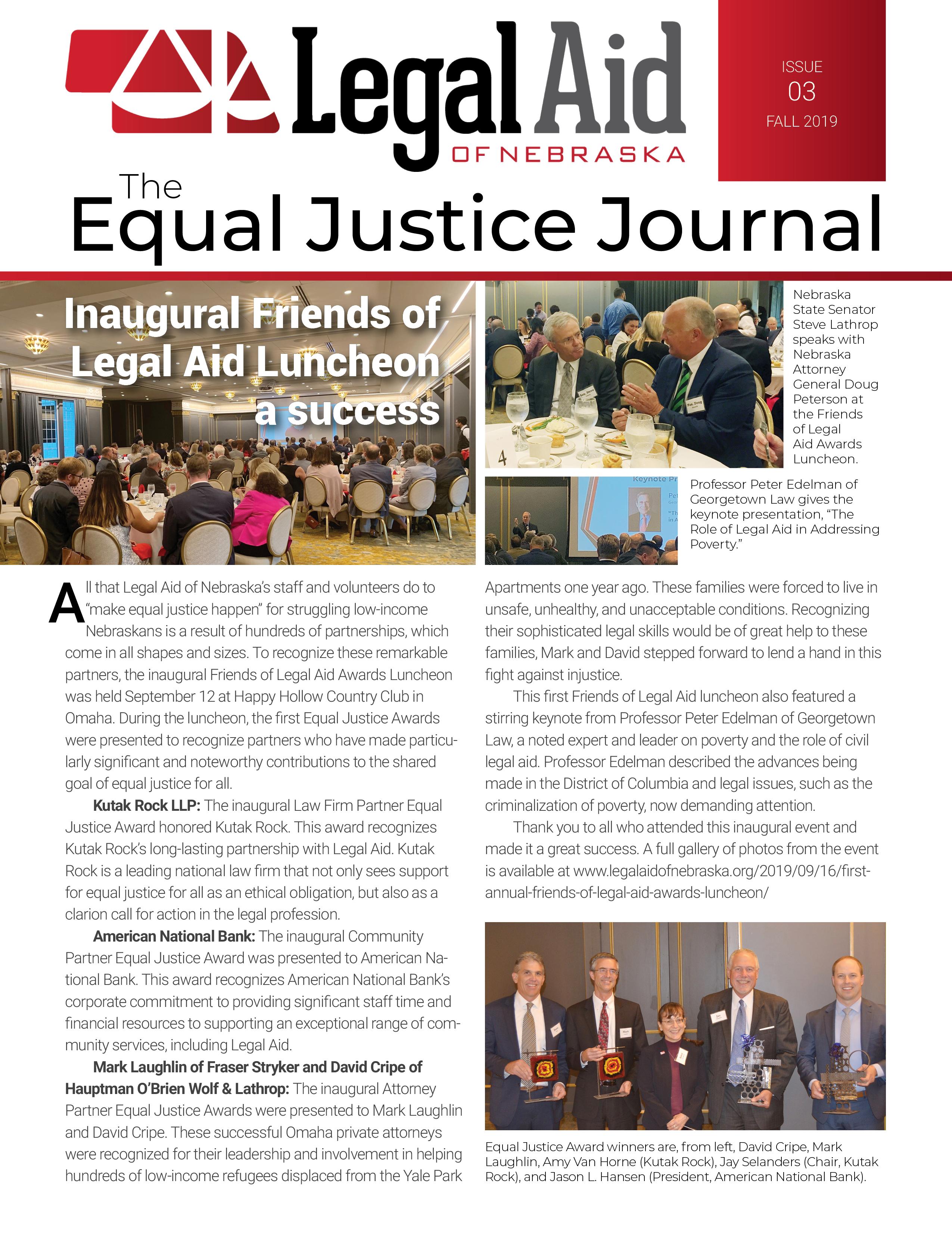 Legal Aid of Nebraska | We Make Equal Justice Happen